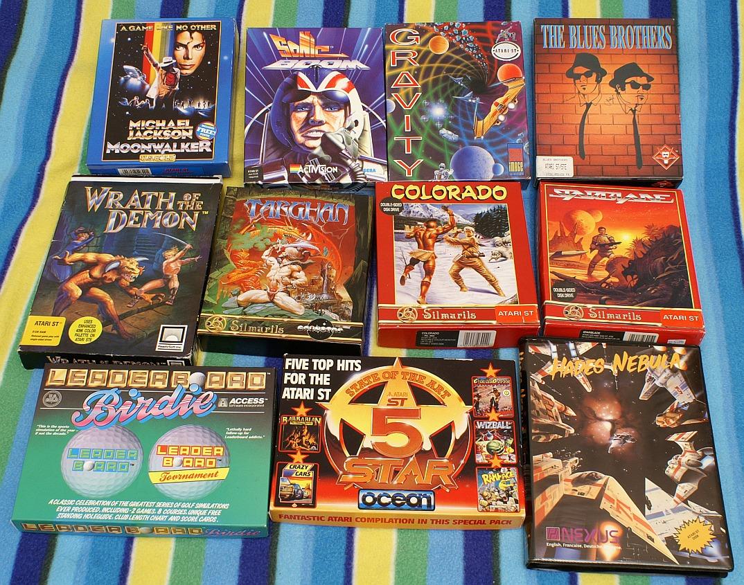 Atari ST Games collection