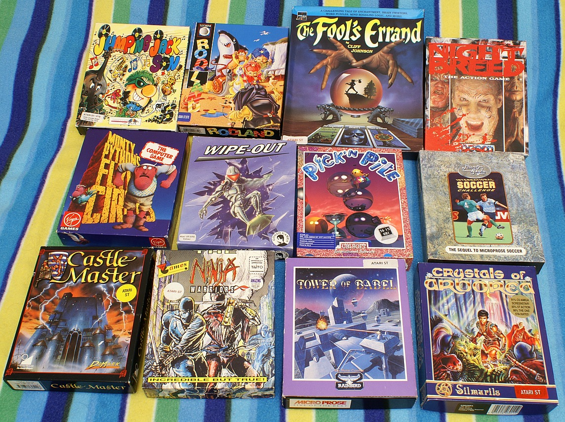 Atari ST Games collection